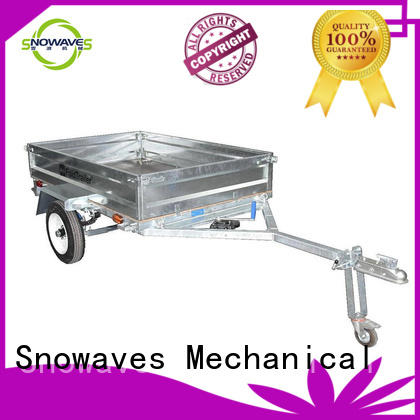 Snowaves Mechanical Custom foldable trailer Supply for camp