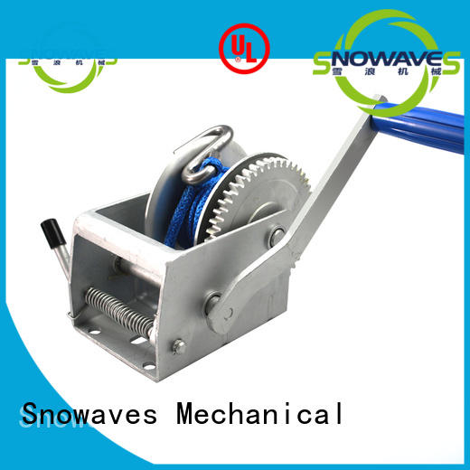 Snowaves Mechanical trailer manual winch Supply for camping