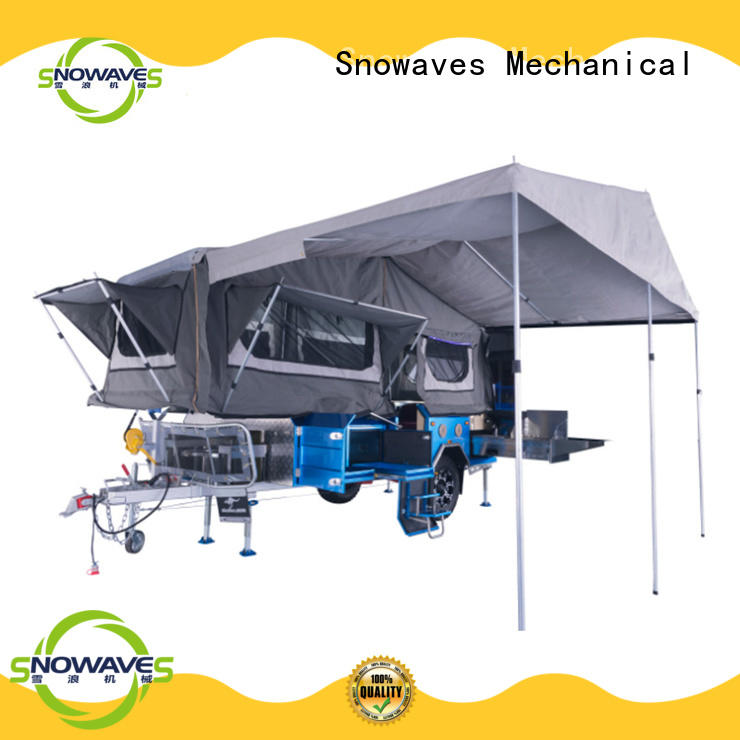 Snowaves Mechanical Best foldable trailer Suppliers for accident