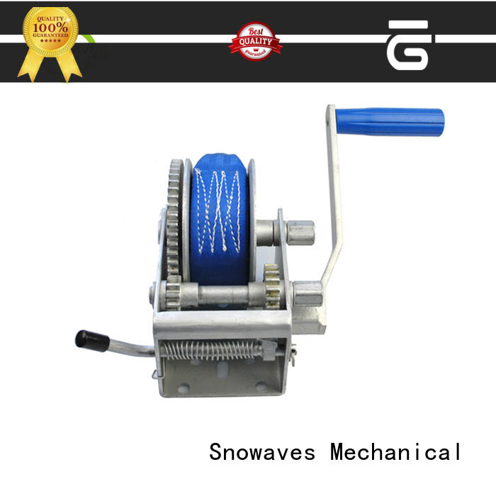Snowaves Mechanical winch manual winch company for car