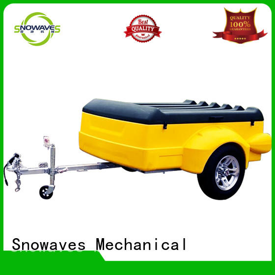 trailer plastic dump trailer waterproof for outdoor activities Snowaves Mechanical