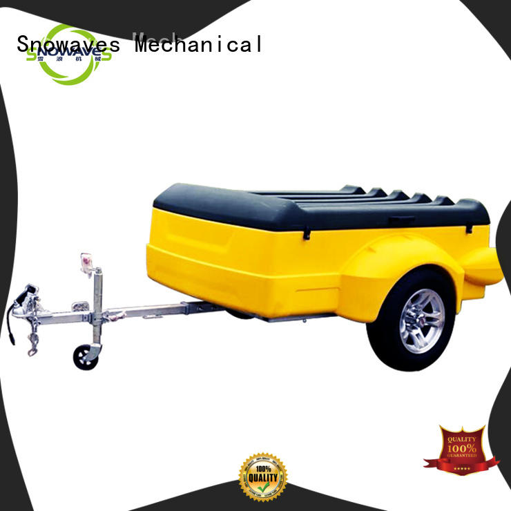 Snowaves Mechanical Wholesale plastic utility trailer factory for outdoor activities