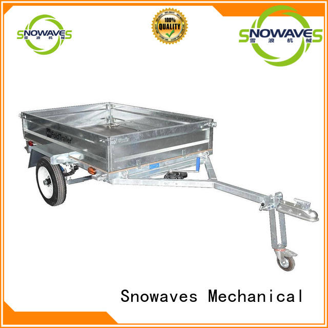 Snowaves Mechanical newly foldable trailer for trips