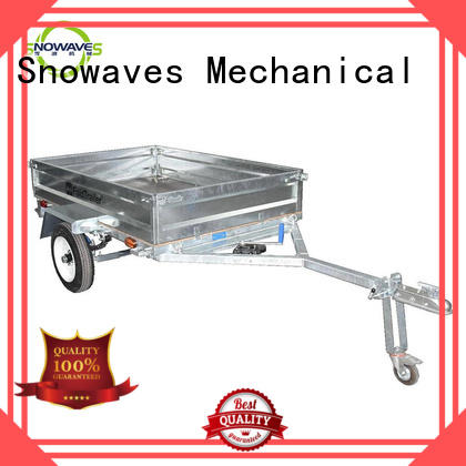 Custom fold up trailer technical supply for one-way trips