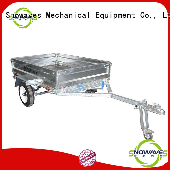 best fold away trailer producer for activities Snowaves Mechanical