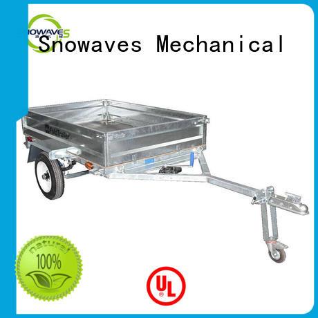 Snowaves Mechanical forward foldable trailer producer for camp