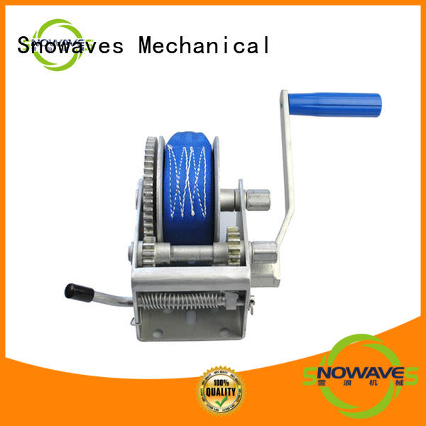 Snowaves Mechanical Latest manual trailer winch Suppliers for car