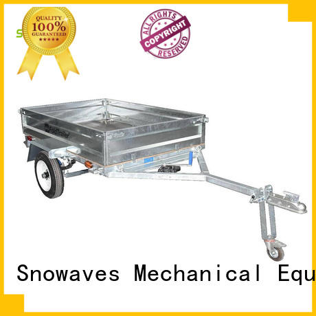 Snowaves Mechanical first-rate folding pop up trailer technical for one-way trips