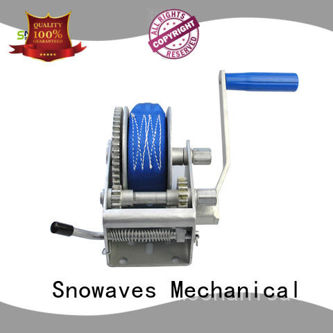manual trailer winch single for camping Snowaves Mechanical
