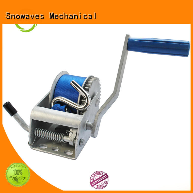 Snowaves Mechanical New hand winches factory for outings