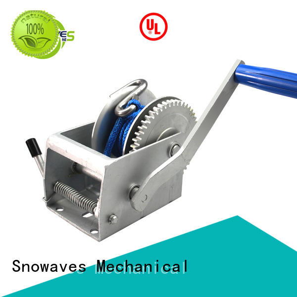 Snowaves Mechanical Top manual winch company for picnics