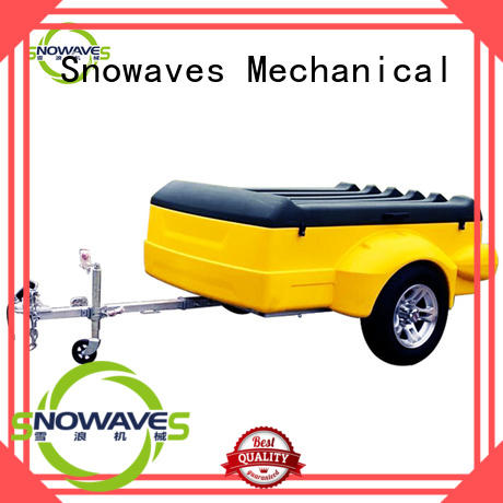Snowaves Mechanical trailer luggage trailer company for outdoor activities