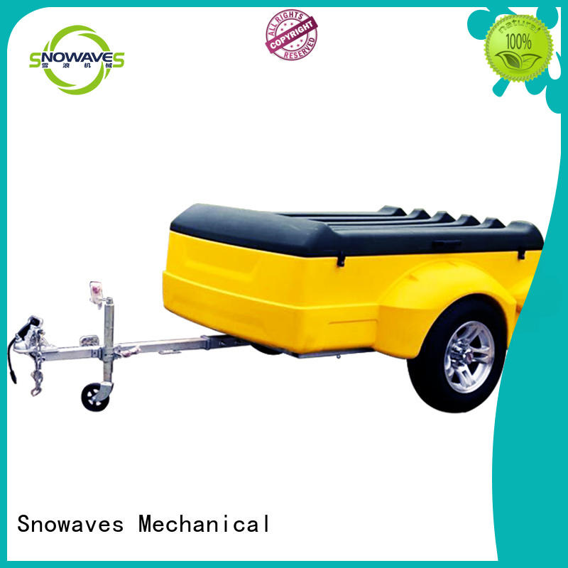 heavy plastic dump trailer for webbing strap