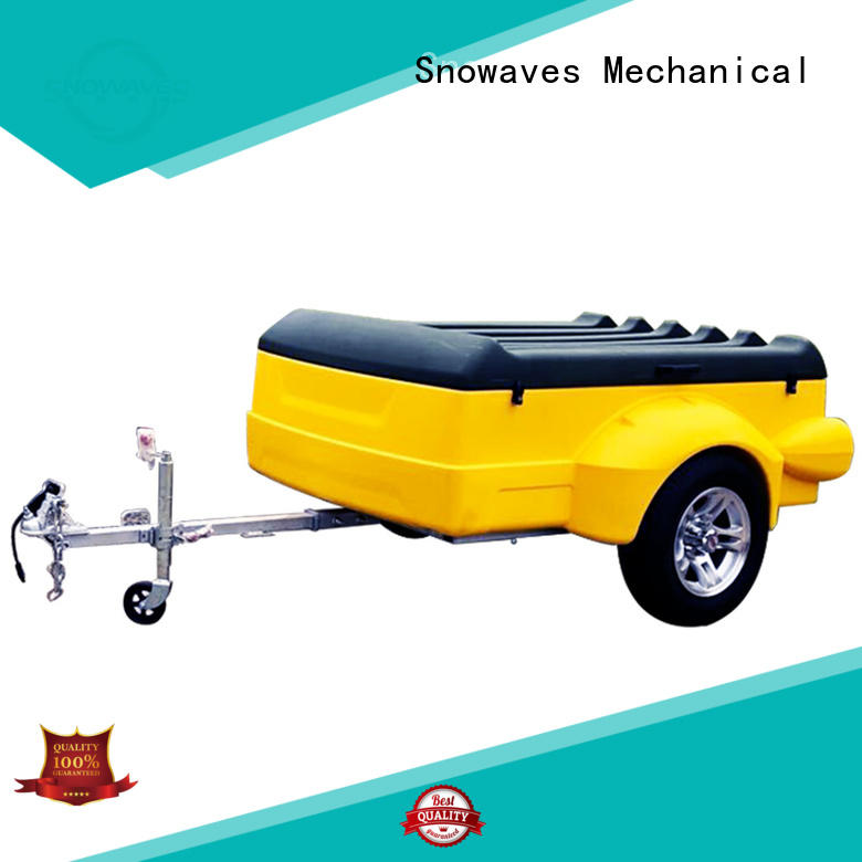 Snowaves Mechanical touring plastic garden trailer with cheap price for outdoor activities