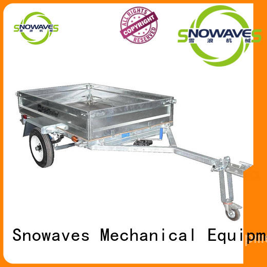 Snowaves Mechanical trailer fold up trailer company for trips