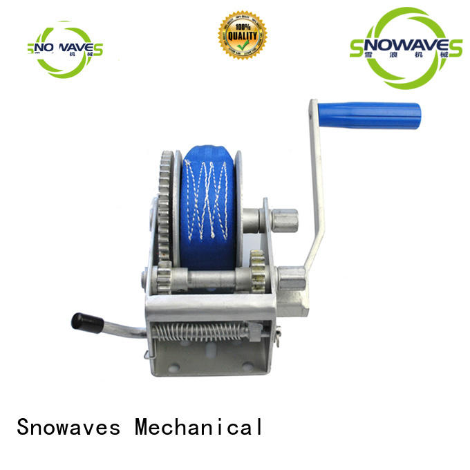 Snowaves Mechanical winch best hand winch for wholesale for car