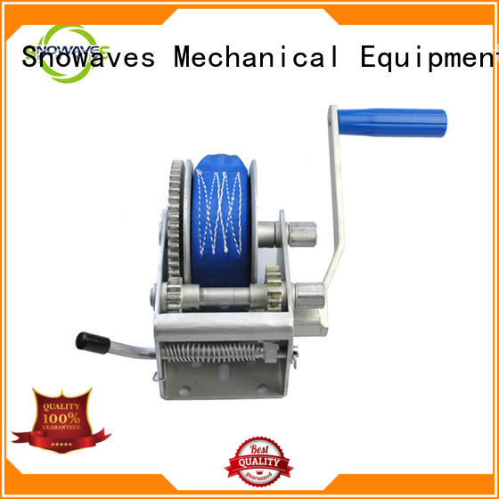 Trailer hand winch 10:1/5:1/1:1(3 speed) 1000kg pulling SW2000