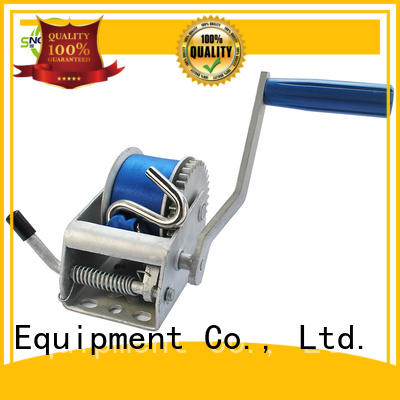 Snowaves Mechanical single boat hand winch factory for outings