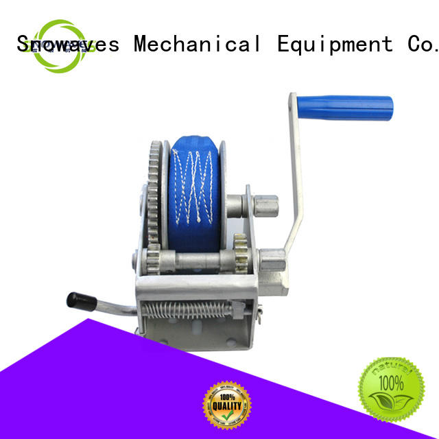 Snowaves Mechanical Latest hand winches company for outings