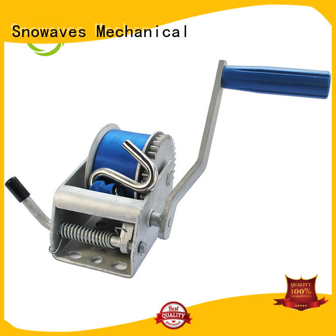 fine- quality boat trailer hand winch from manufacturer for outings Snowaves Mechanical