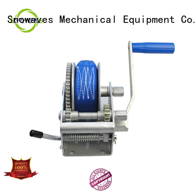 Snowaves Mechanical high-quality light duty hand winch bulk production for outings