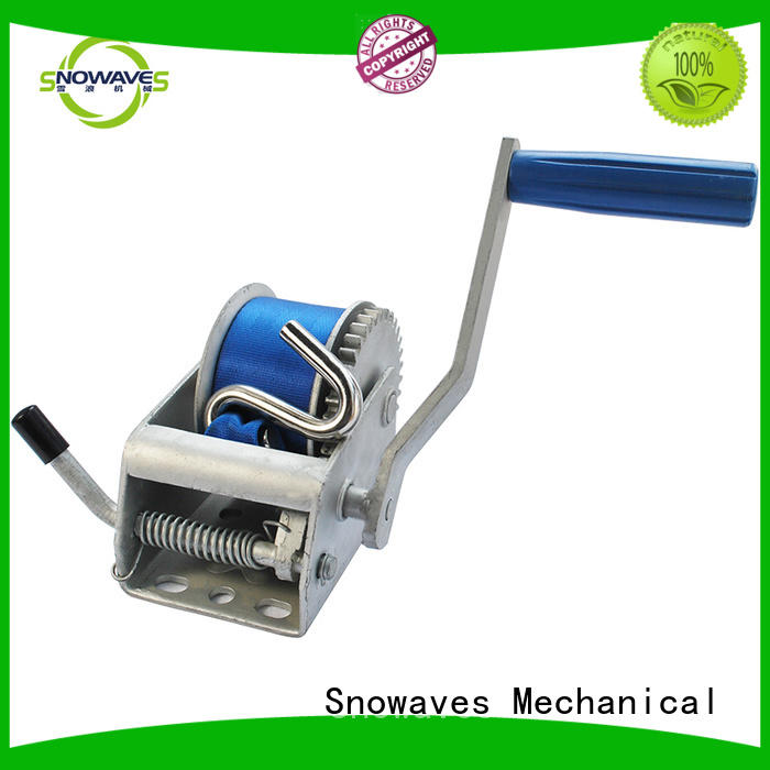 hand powered winch for camping Snowaves Mechanical
