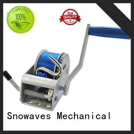 Snowaves Mechanical hand hand winches Supply for camping