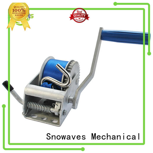 Snowaves Mechanical winch hand winches for wholesale for car