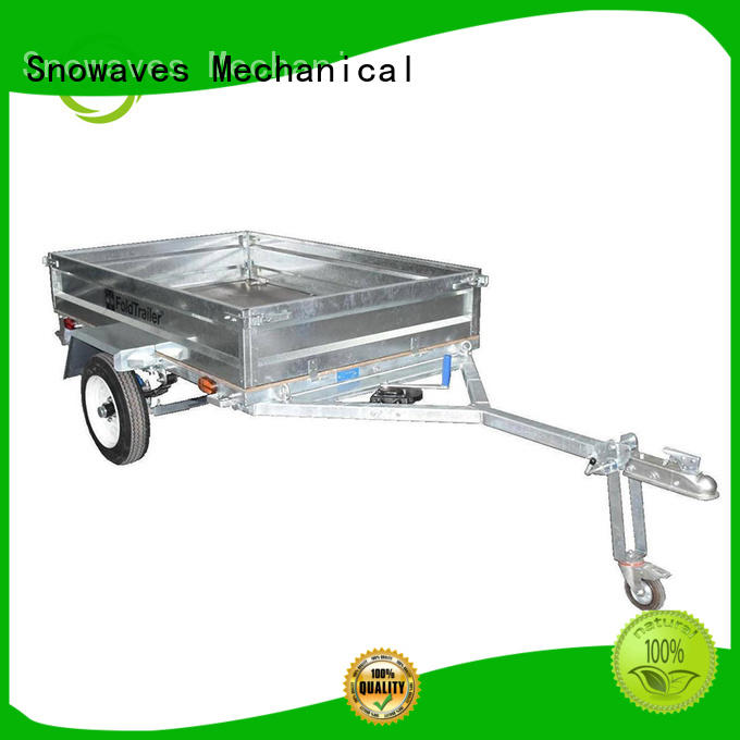 Snowaves Mechanical Best folding trailers suppliers for accident