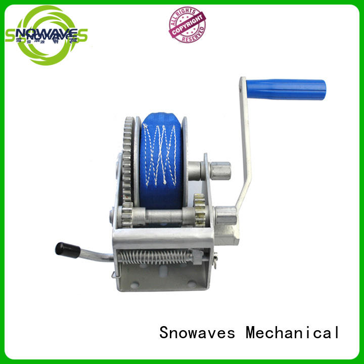 Latest manual trailer winch hand company for outings
