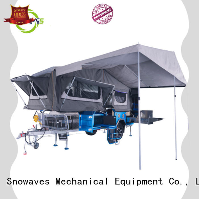 Custom folding trailers factory for trips