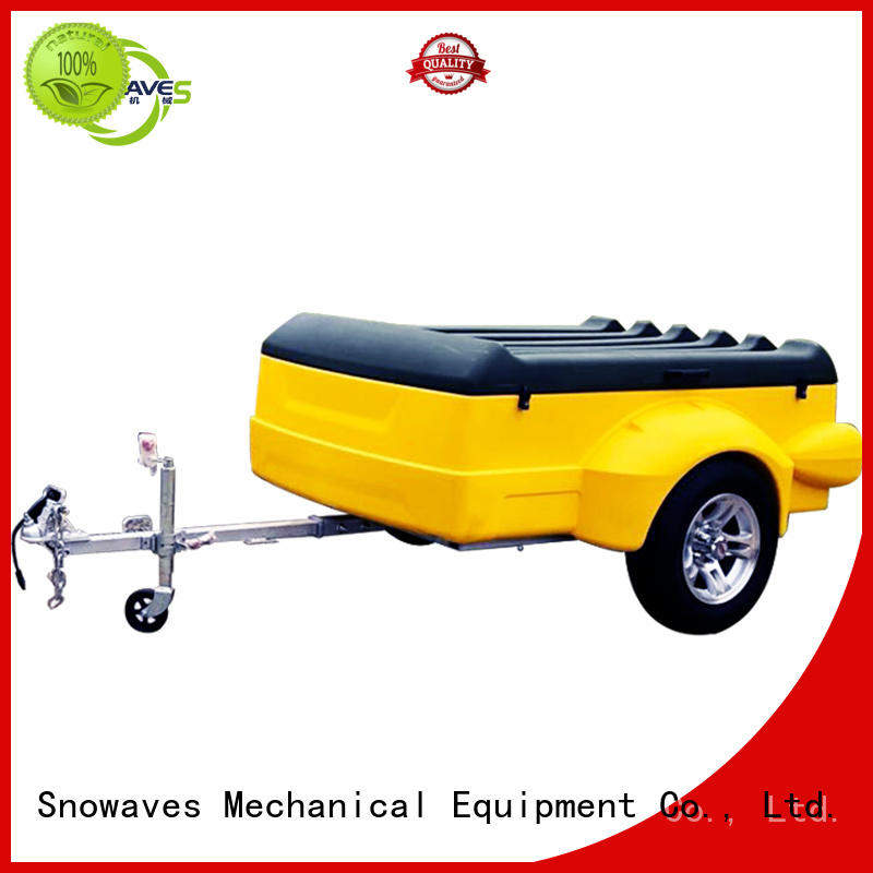 trailer luggage trailer Certified for webbing strap Snowaves Mechanical