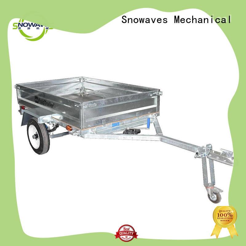 Snowaves Mechanical fashion folding pop up trailer forward for camp