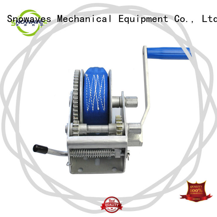 pulling manual trailer winch for wholesale for boat