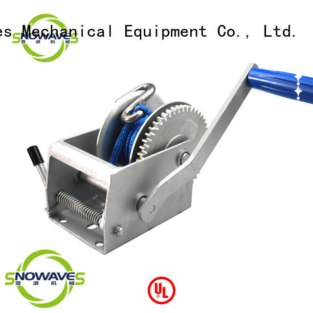 Top manual winch trailer Suppliers for picnics