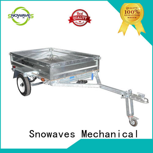 Snowaves Mechanical New folding trailers supply for one-way trips
