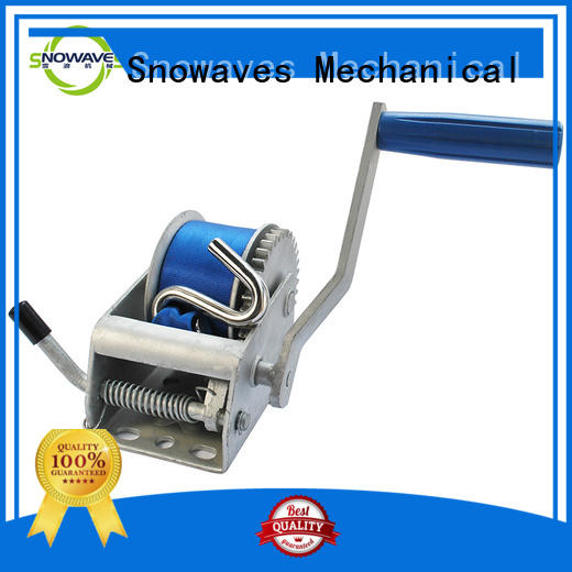 Snowaves Mechanical Latest manual trailer winch Supply for boat