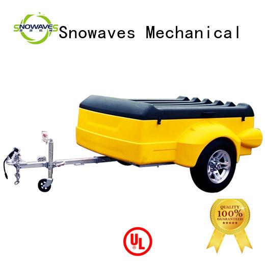 plastic garden trailer camper waterproof luggage trailer Snowaves Mechanical Brand