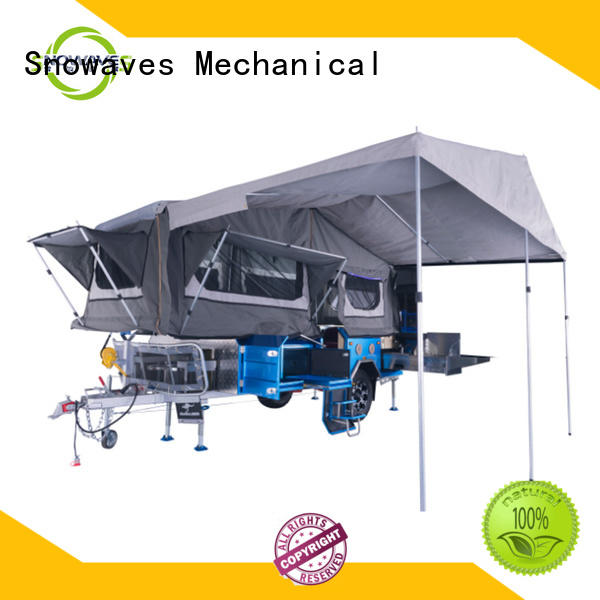 Snowaves Mechanical technical fold up trailer company for one-way trips