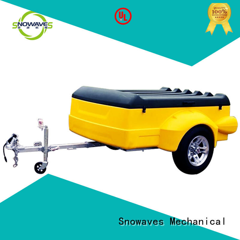 Snowaves Mechanical Top luggage trailer for business for outdoor activities