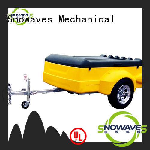 Snowaves Mechanical Latest luggage trailer Supply for no cable