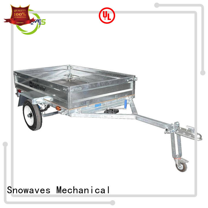 Snowaves Mechanical technical fold up trailer for business for accident