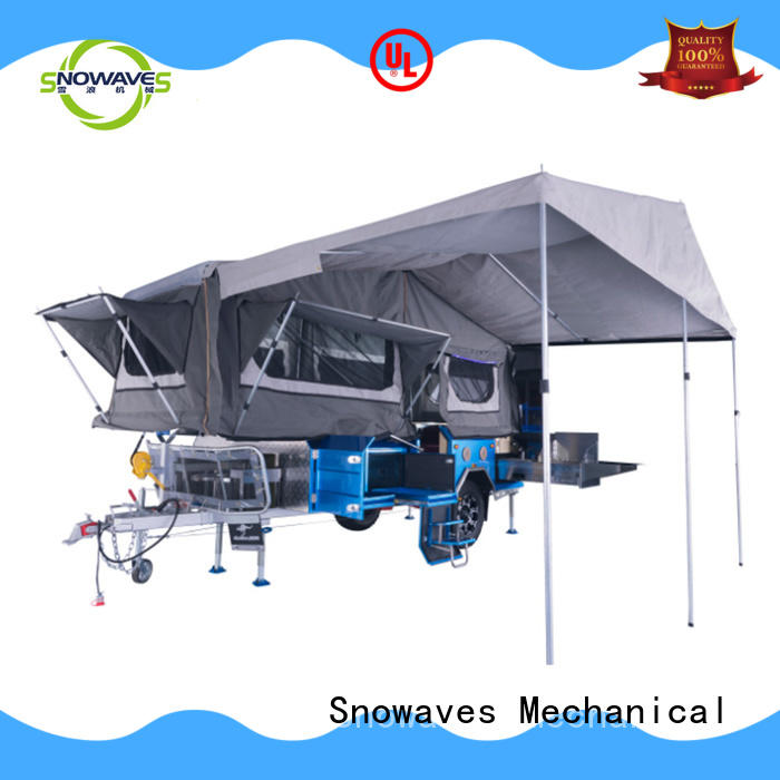 Snowaves Mechanical High-quality fold up trailer factory for one-way trips