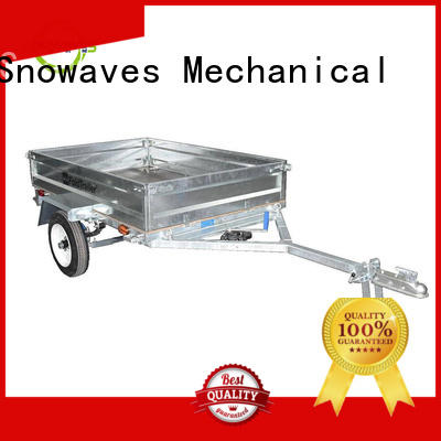 Snowaves Mechanical Wholesale foldable trailer for business for camp