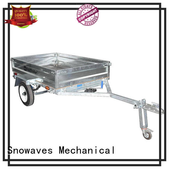 Snowaves Mechanical High-quality fold up trailer factory for accident