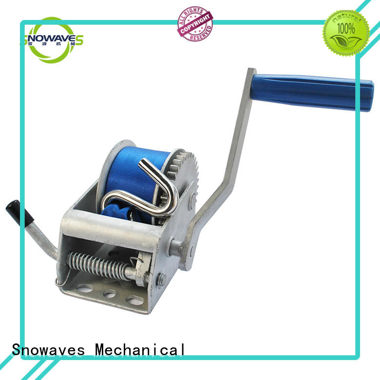 winch industrial hand winch hand for picnics Snowaves Mechanical