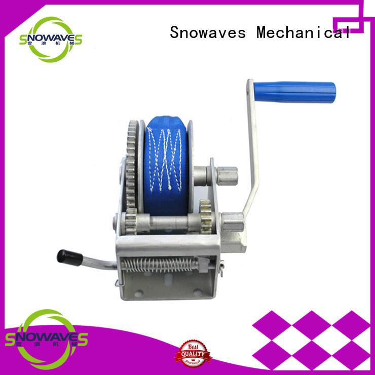 spring trailer manual winch Snowaves Mechanical Brand