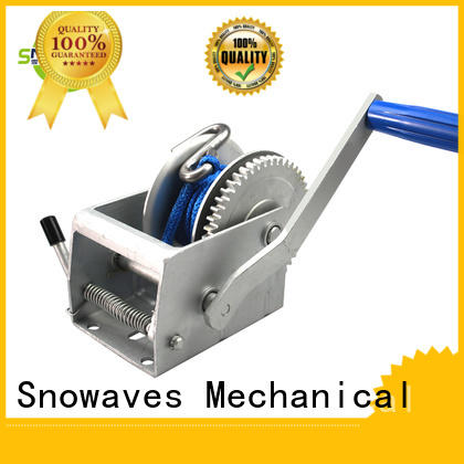 Snowaves Mechanical speed manual trailer winch for business for outings