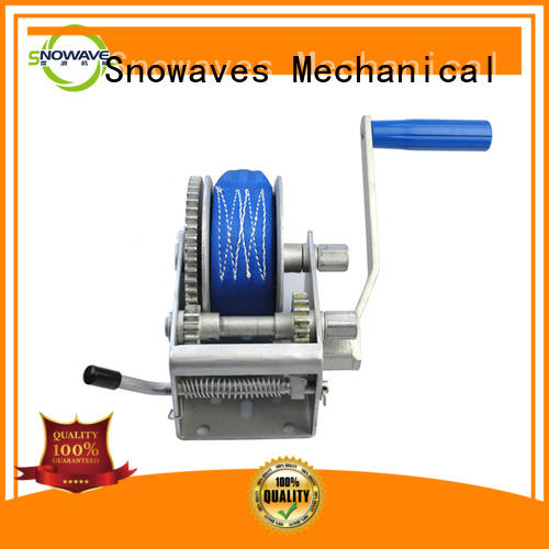 Snowaves Mechanical speed reversible hand winch free design for picnics