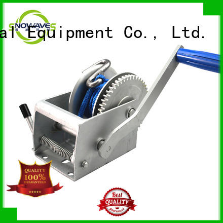 Snowaves Mechanical speed hand winches company for boat